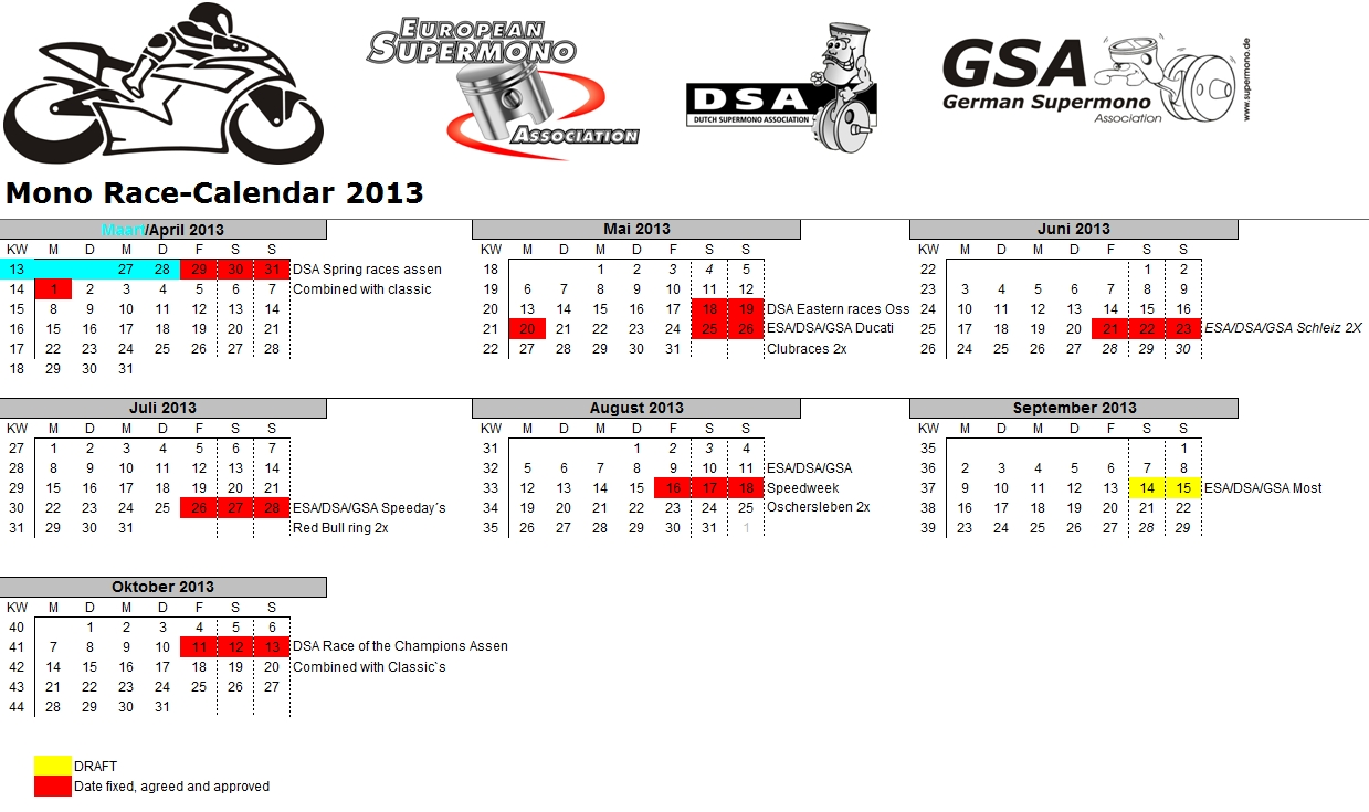Supermono Eventkalender 2013